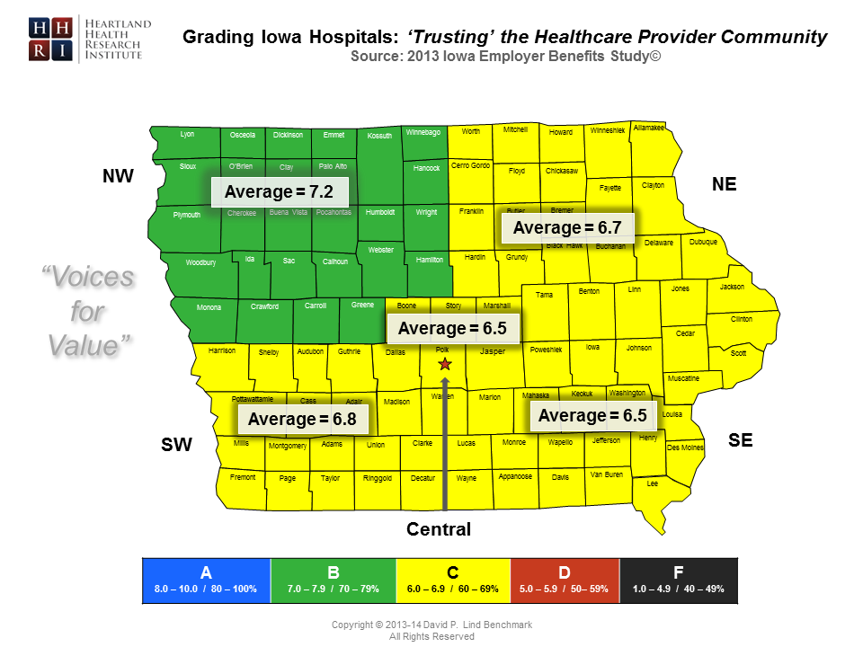 Regional - Trusting the Healthcare Provider Community Map-Master