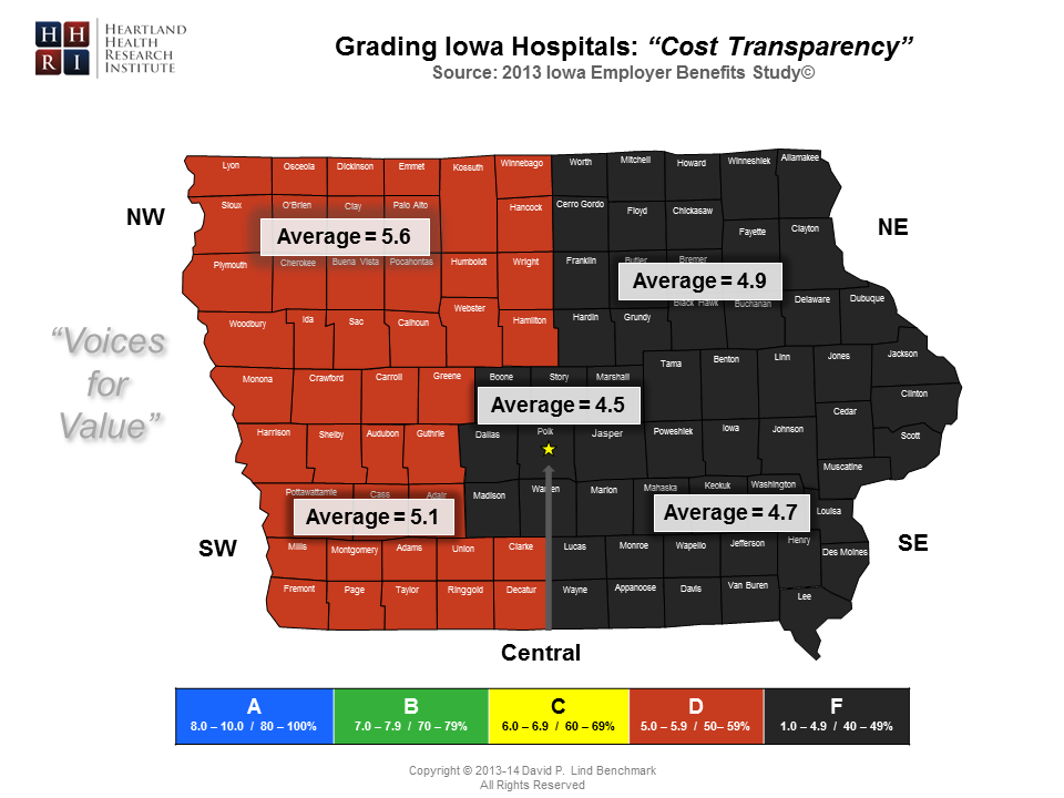 Regional - Cost Transparency Map-Master
